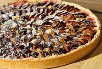 Tarte Aux Quetsches Recipe ( Plum Tart Recipe )