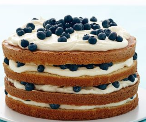 Easy Blueberry Zucchini Cake Recipe