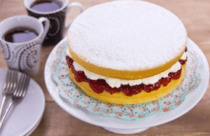 Ancient Victoria Sandwich Sponge Cake Recipe
