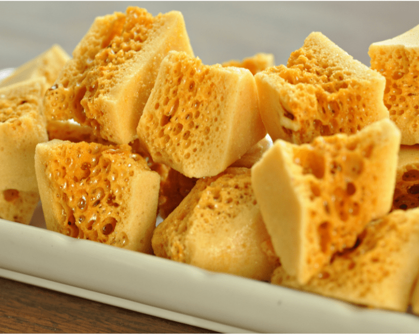 Seafoam Candy Honeycomb Sponge Toffee Recipe